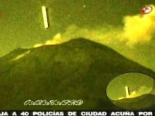 UFO Popocatepetl